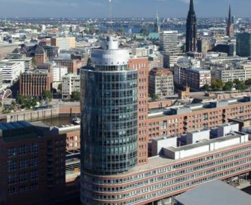 HIH Real Estate, HIH Vermietung, Hamburg, Columbus Haus, HafenCity