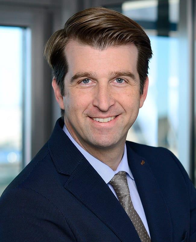 Portraitfoto von Roland Scherer, Leiter Vermietung Region West, HIH Real Estate