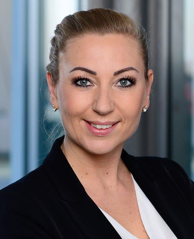 Portraitfoto von Sandra Kohler, Vermietungsmanagerin, HIH Real Estate