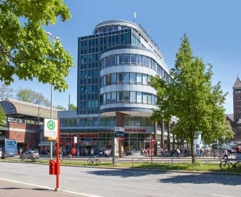 Büro- und Geschäftshaus, Holstenplatz 20 in Hamburg, Deutschland - HIH Real Estate, HIH Vermietung