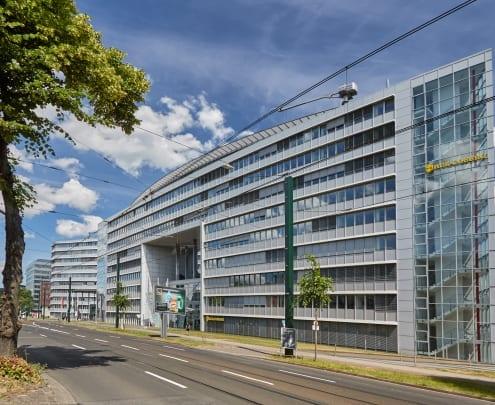 Büroimmobilie, Grafenberger Allee in Düsseldorf - HIH Real Estate, HIH Vermietung